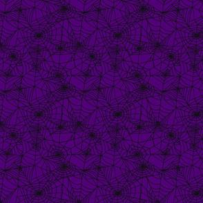 Gothic Purple Webs