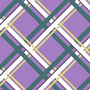 Plaid-Normous - Purple