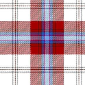 "MacLean of Duart dress red-blue tartan, 6"""