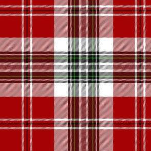 """MacLean of Duart dress red tartan, 6"""""""