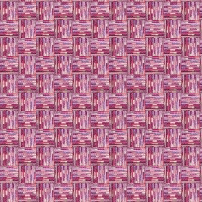 Beaded Basket Weave - Pink