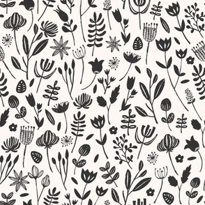 Folk Botanical Print (Small)