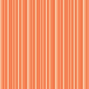 Dark terra cotta orange peach carrot candy stripe sienna southwest _ Miss Chiff Designs.