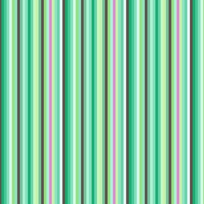 Mint Jade Green Grass Pink Forest Cactus  Candy Stripe _ Miss Chiff Designs