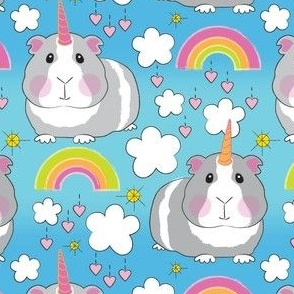 large guinea pig unicorns-and-rainbows