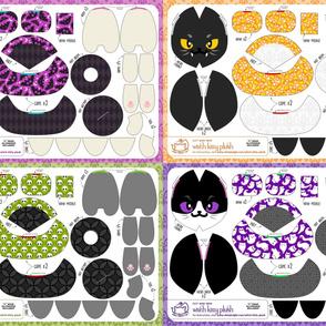 Cut & Sew Witch Kitty Plush Bundle