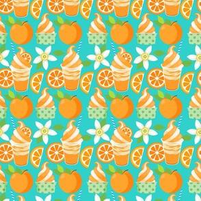 Citrus Ice Cream - Teal