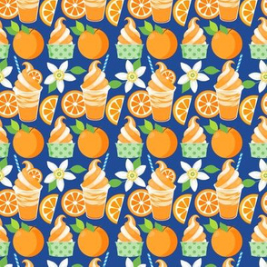 Citrus Ice Cream - Dark Blue
