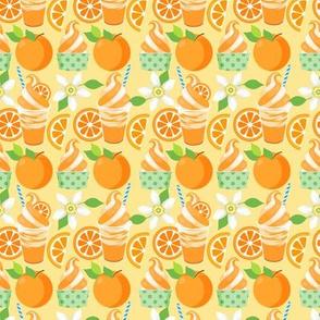 Citrus Ice Cream - Orange