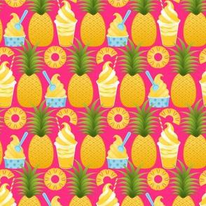 Pineapple Ice Cream - Fuchsia