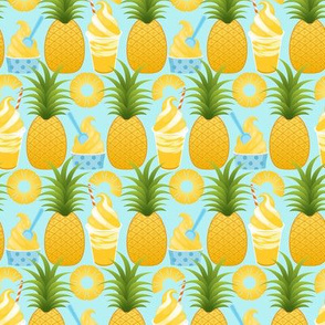 Pineapple Ice Cream - Aqua