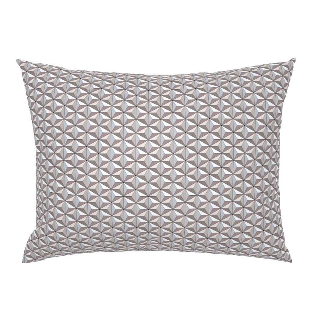 Campine Pillow Sham featuring Geodesic Globe - Storm by ejrippy