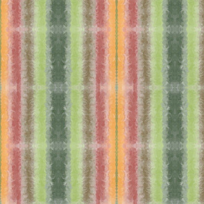 Watercolor Autumn Stripes