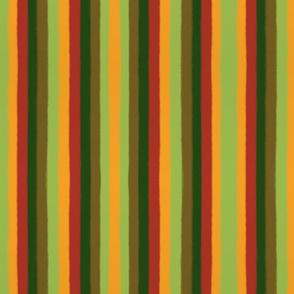 Bold Autumn Stripes