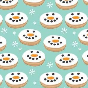 snowman-donuts