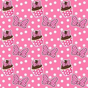 Cupcakes & Bows - Pink