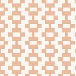 Aztec Ladder - Autumn Blush