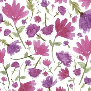Kristin Nicole Watercolor Pink Floral