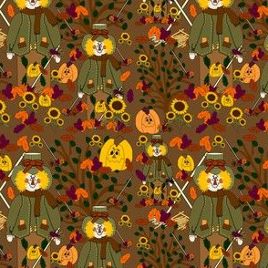 Fall Scarecrow Rob Fabric Collection