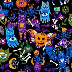 Mystic Halloween Black