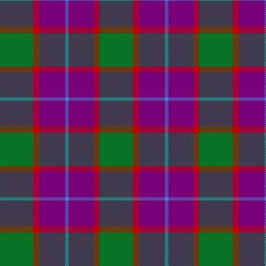 "Wilsons # 199 / MacNab tartan, 3"" purple"