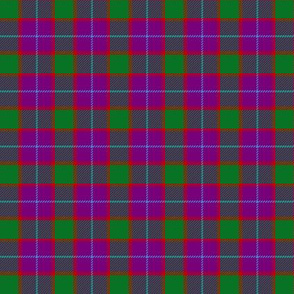 "Wilsons # 199 / MacNab tartan, 1.5"" purple"