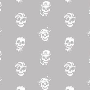 Skull Mini B&W