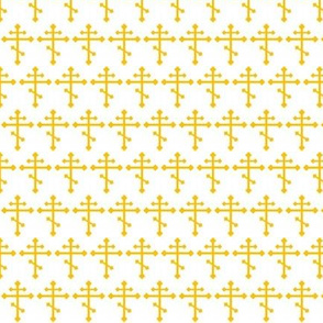 Orthodox Cross in Gold