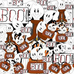 Halloween Scarier Per Pound David Ghost Fabric Collection