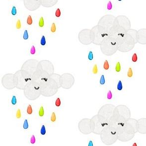 rainbow baby clouds