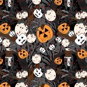 Halloween Halloween I Lost My Head Abraham The Headless Horseman Fabric  Collection