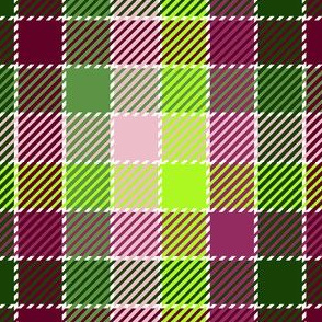 #SAGE Secret Garden - Woven Look Plaid