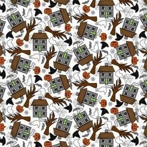 Halloween Ichabod I'm Not Afraid Of You Crane Fabric Collection