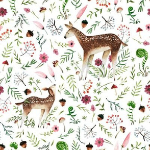 "8"" Wandering Deer in the Meadow"