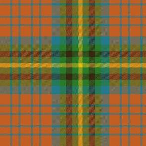 """MacGaugh tartan, 6"""" ancient"""