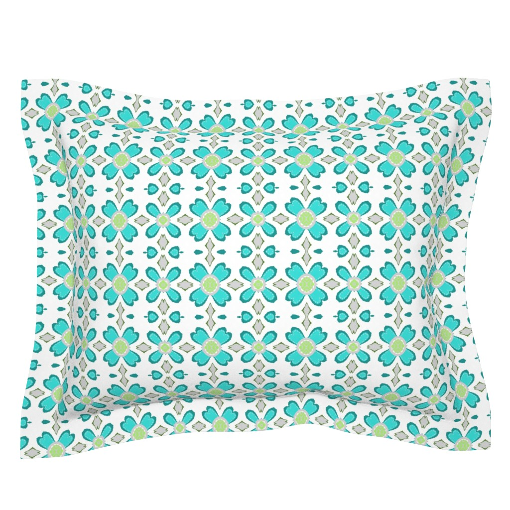 Sebright Pillow Sham featuring Quirky Cutouts  by franbail
