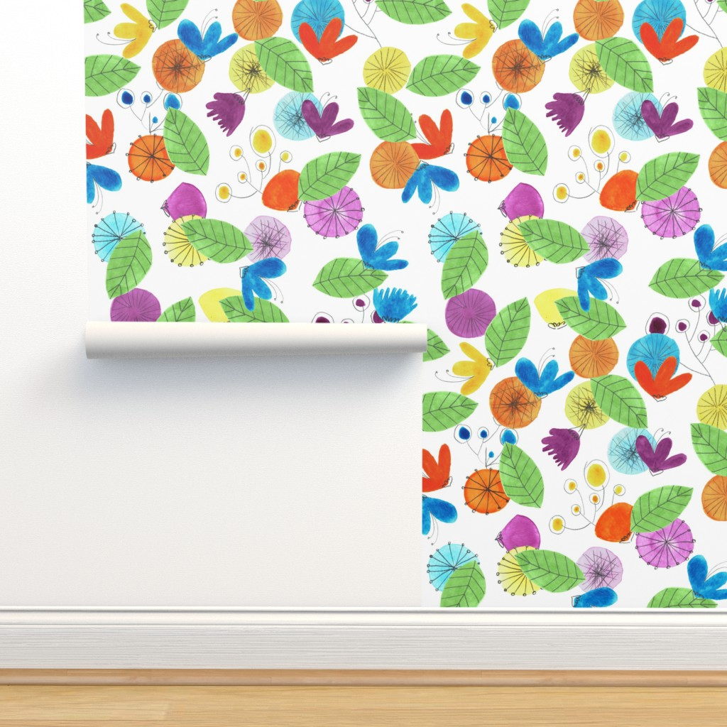 Isobar Durable Wallpaper featuring Pattern #18 by irenesilvino