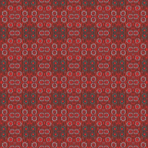 Find The Rabbit, red & gray