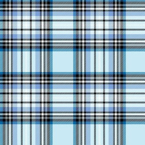 blue tartan style 1 - 4in repeat