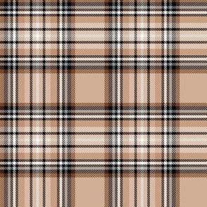 brown tartan style 1 - 4in repeat