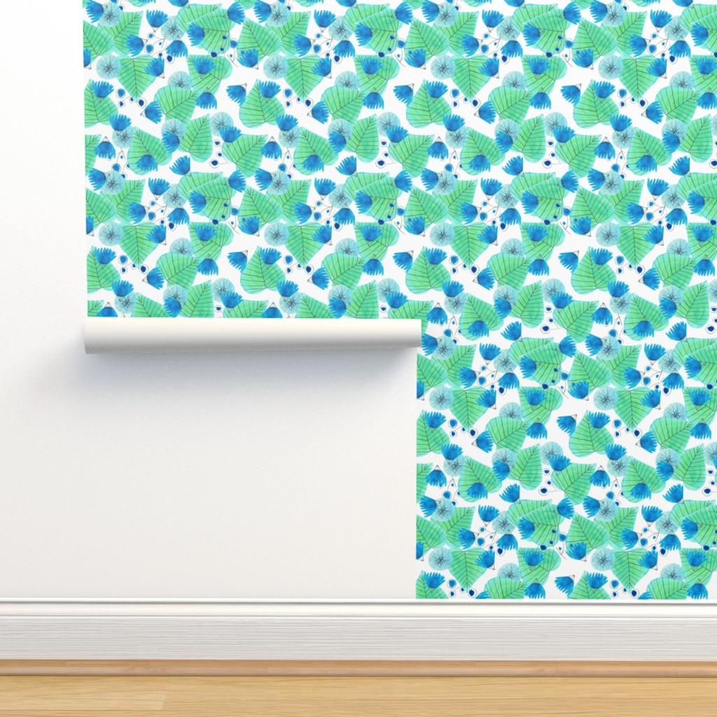 Isobar Durable Wallpaper featuring pattern #22 by irenesilvino