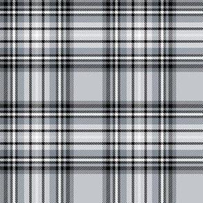 grey tartan style 1 - 4in repeat