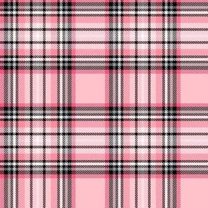 pink tartan style 1 - 4in repeat