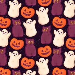 Halloween Marshmallows Dark