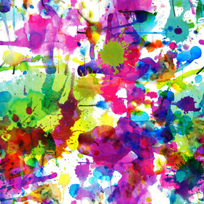 ink splatters 54 inches!