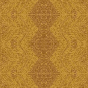 Stacked Wood Grain in Gold Leaf