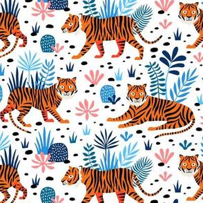 Tiger Jungle white