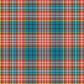 """Ogilvy clan tartan, 6"""" ancient colors"""