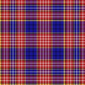 "Ogilvy clan tartan, 6"" modern colors"