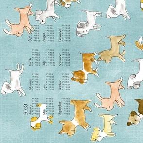 2020 Calendar: Dogs On The Go - © Lucinda Wei